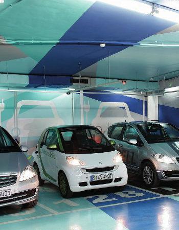 instalar punto de recarga de vehículo eléctrico en un garaje comunitario