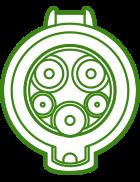 conector vehículo eléctrico tipo I
